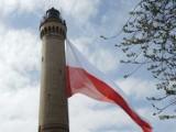 Największa Biało Czerwona na największej latarni