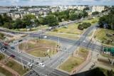 Bydgoszcz. Rondo Fordońskie olbrzymie i jak turbina, a pośrodku ma przechodzić nowa linia tramwajowa
