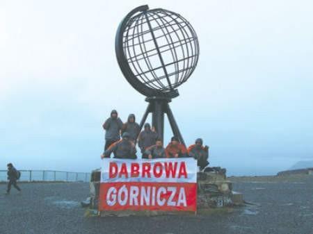 Dąbrowscy biegacze dotarli także na koniec Europy, do Przylądka Północnego.