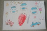 Tak wałbrzyskie maluchy dziękują służbom medycznym. Piękne rysunku dzieci