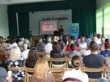 Kwidzyn: Jacek Chmurzyński mówił o bezpiecznym przewożeniu dzieci w samchodzie