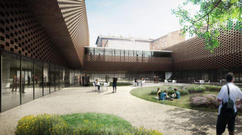 d113ea80b4f60d Nowa siedziba Wydziału Radia i Telewziji UŚ w Katowicach - koncepcja Grupy  5 Architekci