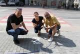 Akcja Smart Stop w Jarosławiu. Przechodząc przez przejście odłóż telefon!