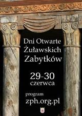 Dni Otwarte Żuławskich Zabytków  29 - 30.06.2019 r. Lista miejsc w tegorocznej edycji