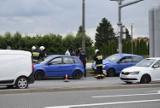 Wypadek na alei Rataja w Skierniewicach. Zderzyły się trzy auta ZDJĘCIA