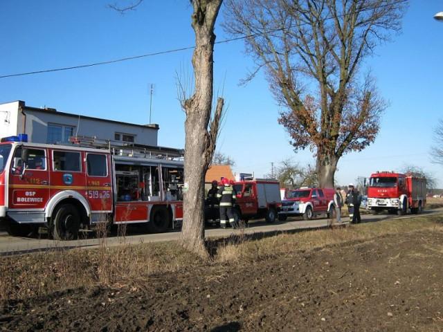 W poniedziałek przed godzina 10, w domu mieszkalnym przy ulicy Leśnej doszło do wybuchu oraz pożaru.