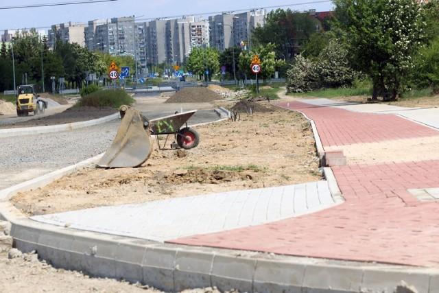 Remont ulicy Sikorskiego w Legnicy.