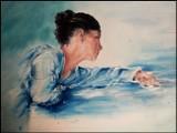 Zbąszyń.. Kobieta pędzlem malowana - obrazy Marzeny Basińskiej z Zakrzewka
