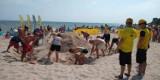 Plażowe Mistrzostwa Budowniczych (2021) w powiecie puckim. Wystartowali w Chłapowie i wynik mają świetny. Góra piasku miała 277 cm | FOTO
