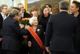 Danuta Szaflarska u Prezydenta. Aktorka otrzymała Order Odrodzenia Polski