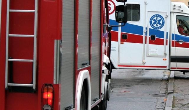 58-letni mieszkaniec Chełmna zatruł się czadem i jest w szpitalu.