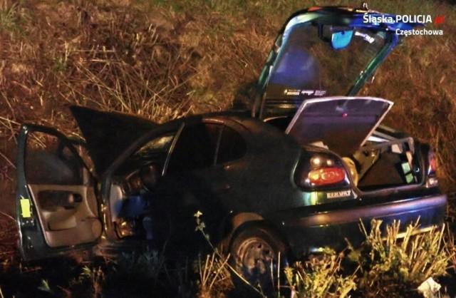 61-letni pasażer renault zginął w wypadku, do którego doszło 5 maja 2021 roku na ulicy Głównej w Częstochowie
