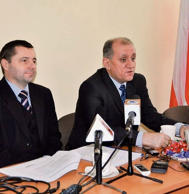 Starosta Paweł Rajski zapowiada ograniczenie inwestycji
