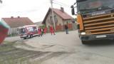WYPADEK: Krotoszyński kierowca karetki pogotowia zderzył się z ciężarówką Scania!