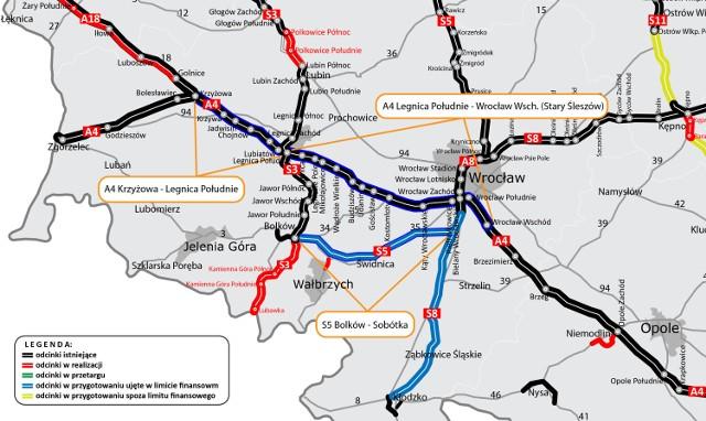 Nowa autostrada A4 - podpisano umowę na wykonanie dokumentacji A4 i S5