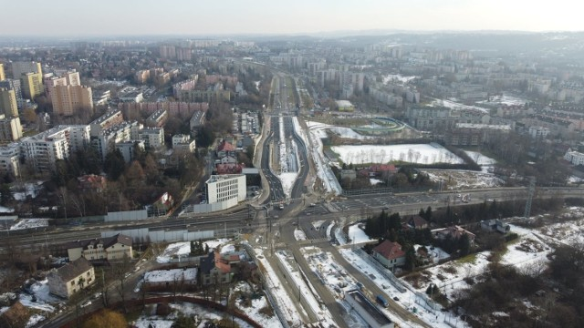 Postępuje budowa Trasy Łagiewnickiej