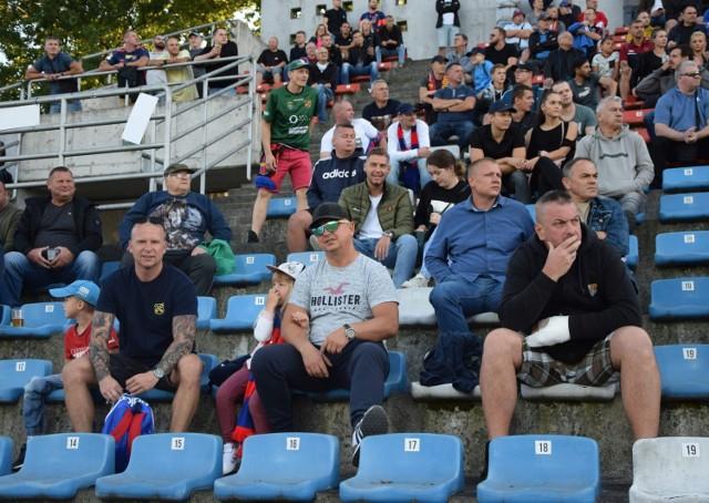 Kibice na meczu Odra Opole - Widzew Łódź (0-0)