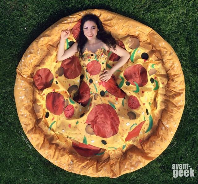 Poznajcie cosplayerkę, ktora dobrze wygląda nawet jako pizza! [ZDJĘCIA]