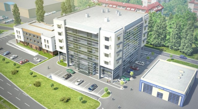 Biurowiec Hanski Office Center będzie gotowy na wiosnę 2013 ...