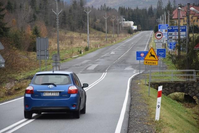 Przejście graniczne w Jurgowie 2 listopada 2020