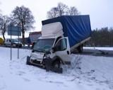 Wypadki i kolizje na drogach w powiecie opoczyńskim. Kierowcy nie zachowują ostrożności na drogach