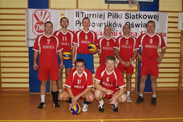 Zwycięska drużyna z Łowicza