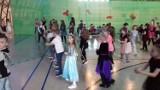 Karnawałowy bal w szkole podstawowej numer 3 w Staszowie. Panowała świetna atmosfera