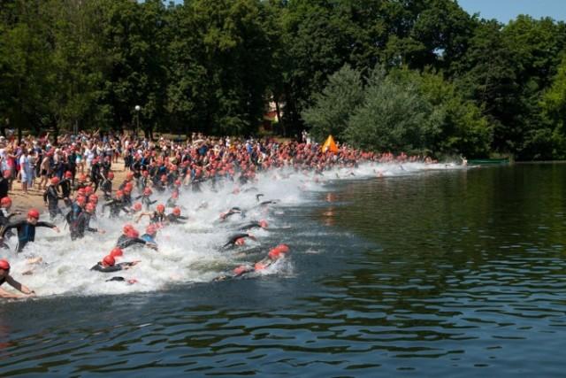 Triathlon Ślesin 2014