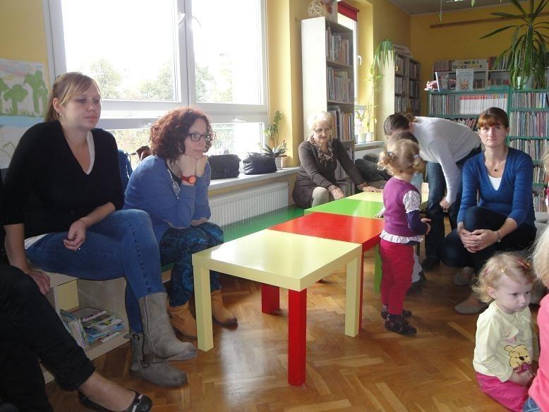Biblioteka na Jezioranach - Poranek malucha