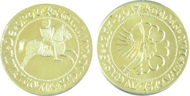Moneta na 760-lecie Wodzisławia