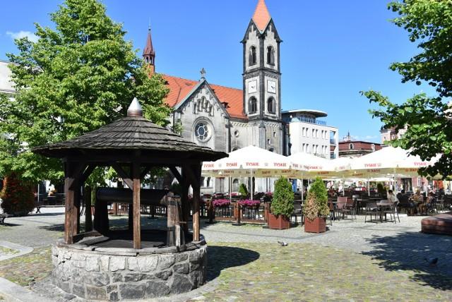 Rynek w Tarnowskich Górach 2019