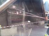 Piwniczna. Samochód staranował przystanek w Kosarzyskach
