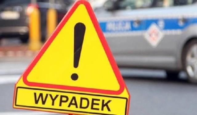 Wypadek na S3 na węźle Gorzów Zachód - Południe.