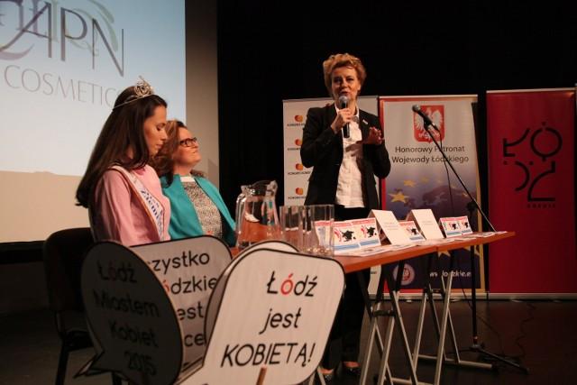 Pierwszego dnia Festiwalu Łódź Miastem Kobiet odbyła się konferencja z prezydent Łodzi Hanną Zdanowską, spotkanie z podróżniczką Zofią Suską i koncert zespołu Kurakar Trio