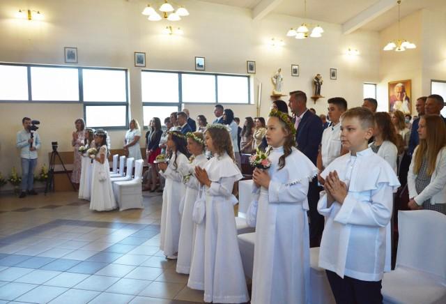 Uroczystość Pierwszej Komunii Świętej.