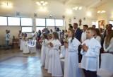 Uroczystość Pierwszej Komunii Świętej odbyła się w parafii pw. NMP Nieustającej Pomocy w Bełchatowie, 6.06.2021