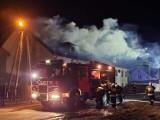 Pożar budynku wielorodzinnego w Dzikowie gm. Gaworzyce