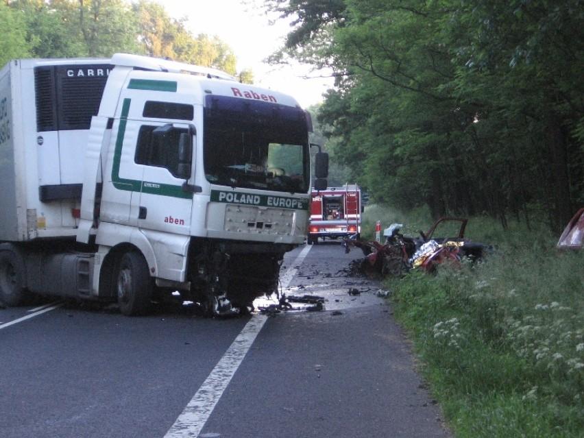 """Śmiertelny wypadek na """"piątce"""" w Wydorowie"""