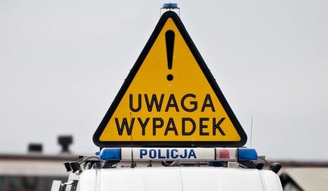 Po wypadku w Przyłubiu jedna osoba trafiła do szpitala