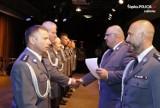 Święto Policji w lubliniecko – koszęcińskim wydaniu. Na wyższe stopnie mianowano 42 funkcjonariuszy [ZDJĘCIA]