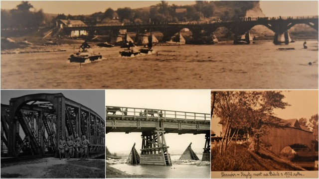 Tarnowskie mosty kiedyś i dziś na fotografiach