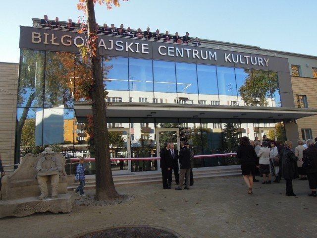 Otwarcie Biłgorajskiego Centrum Kultury - była wielka feta