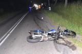 Wypadek motocyklisty w Niegowonicach. Zginął 23-letni mężczyzna [ZDJĘCIA]