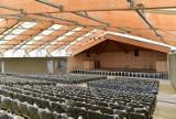 Nowy Sącz. Dobiegają końca prace przy rewitalizacji Parku Strzeleckiego. Amfiteatr wygląda imponująco [ZDJĘCIA]