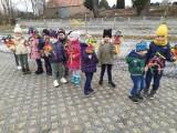 Wiosna 2021.ZSP Przyprostynia - 4 latki z Przyprostyni barwnie powitały nową porę roku! [Zdjęcia]