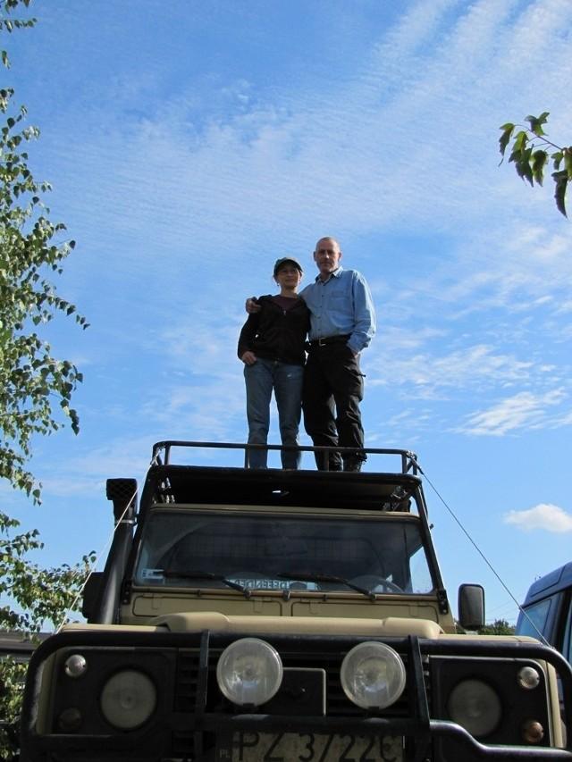 Warsztat Paula i Justyny Clark specjalizuje się w autach terenowych. Także dla gwiazd...