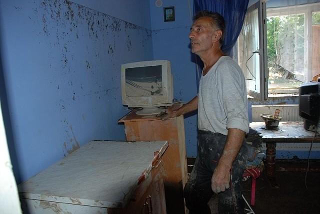 Jan Zabłocki z Radomierzyc chwali gminę za szybką pomoc