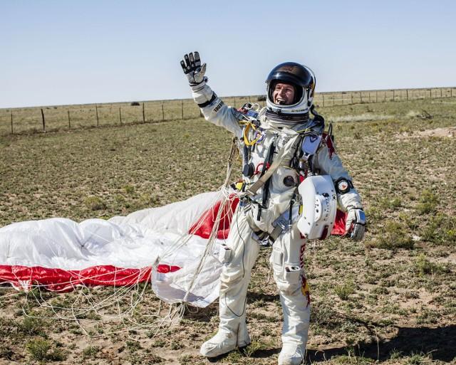 43-letni Baumgartner latami przygotowywał się do rekordowego skoku