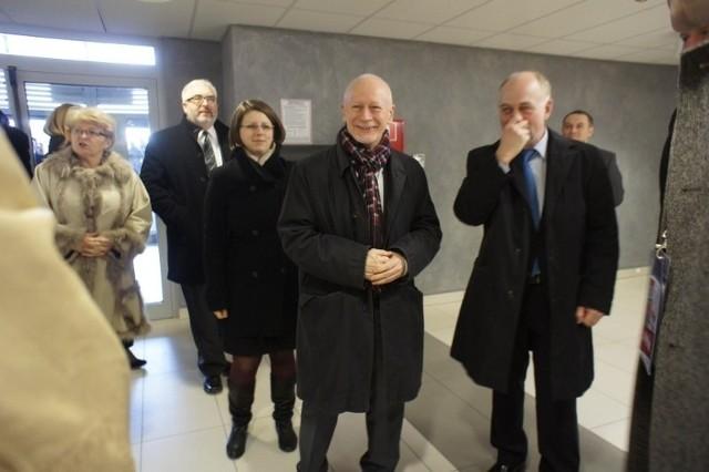 Minister Michał Boni z wizytą w Poznaniu.