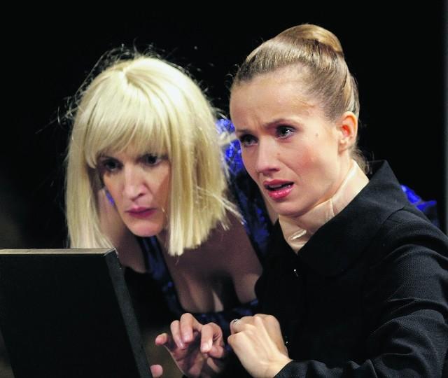 Anna Kociarz (Aniela)  i Wanda Skorny (Klaudyna)